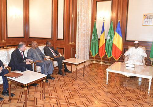 Terrorisme : Une délégation de l'ONU rencontre Déby au Tchad. Crédits : Présidence Tchad