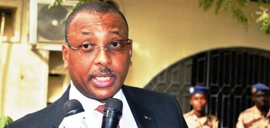 Le nouveau ministre des finances, Diguimbaye Christian Georges.