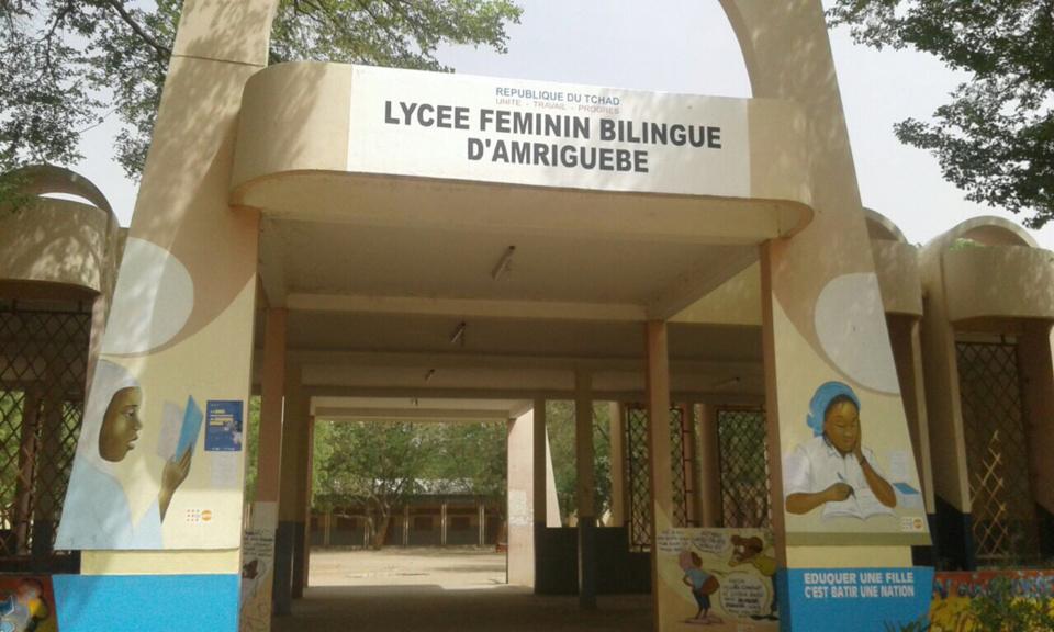 Le lycée féminin bilingue d'Amriguebe. Alwihda Info/D.W.