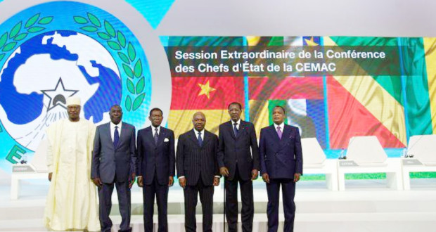 Une photo de famille des chefs d'Etat africains de la CEMAC. Crédit photo : Sources