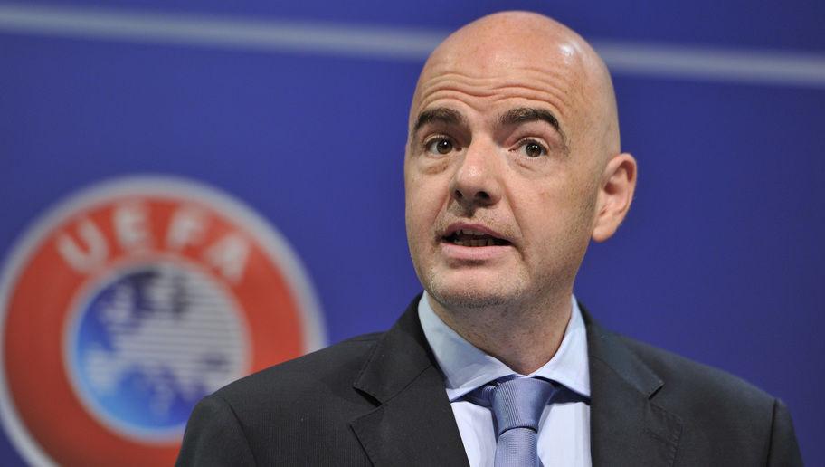Le Président de la FIFA. Crédits : Sources