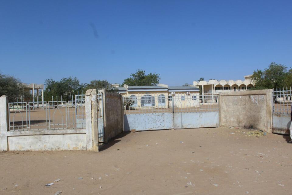 Une façade du lycée de Walia aujourd'hui. Alwihda Info/D.W.
