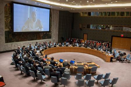Le conseil de sécurité de l'ONU. Crédits : Sources