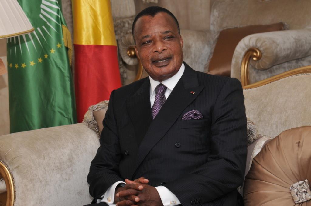 Denis Sassou N'Guesso. Crédits : Sources
