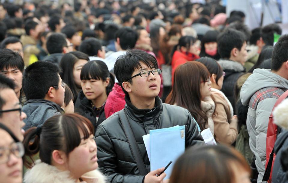 China plans to create 11 million new urban jobs despite of growth slowdown