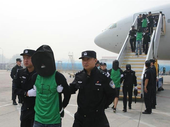 Chinese police bust information theft gang