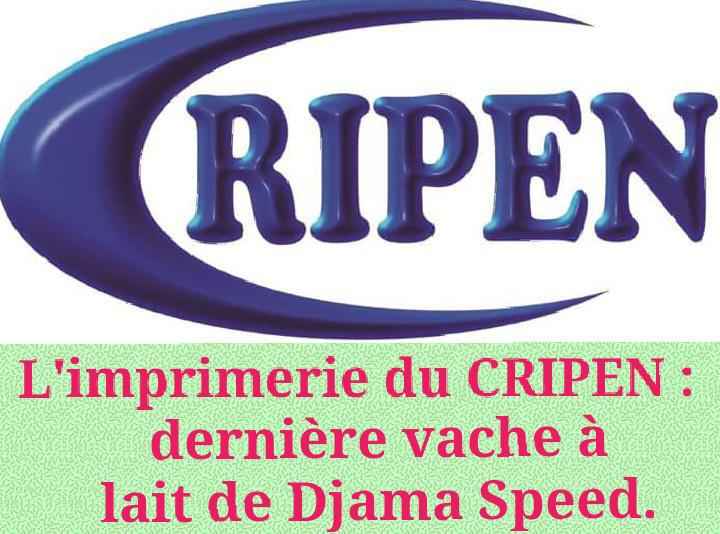DJIBOUTI - L'imprimerie du CRIPEN : dernière vache à lait de Djama Speed.