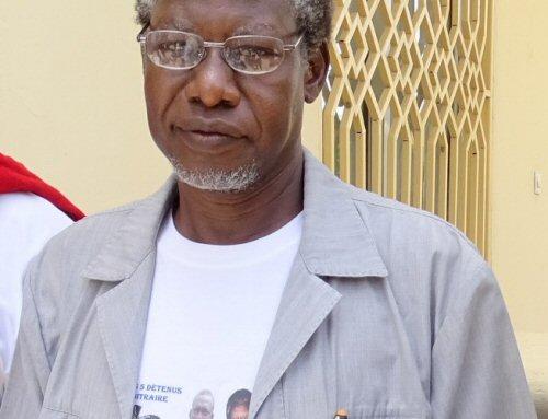 © Droits reservés  Mahamat Nour Ibedou Ibedou, Secrétaire Général de la Convention tchadienne pour la défense des droits de l'homme CTDDH