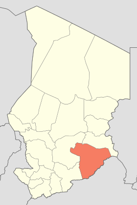 La région du Salamat. Crédits : Sources