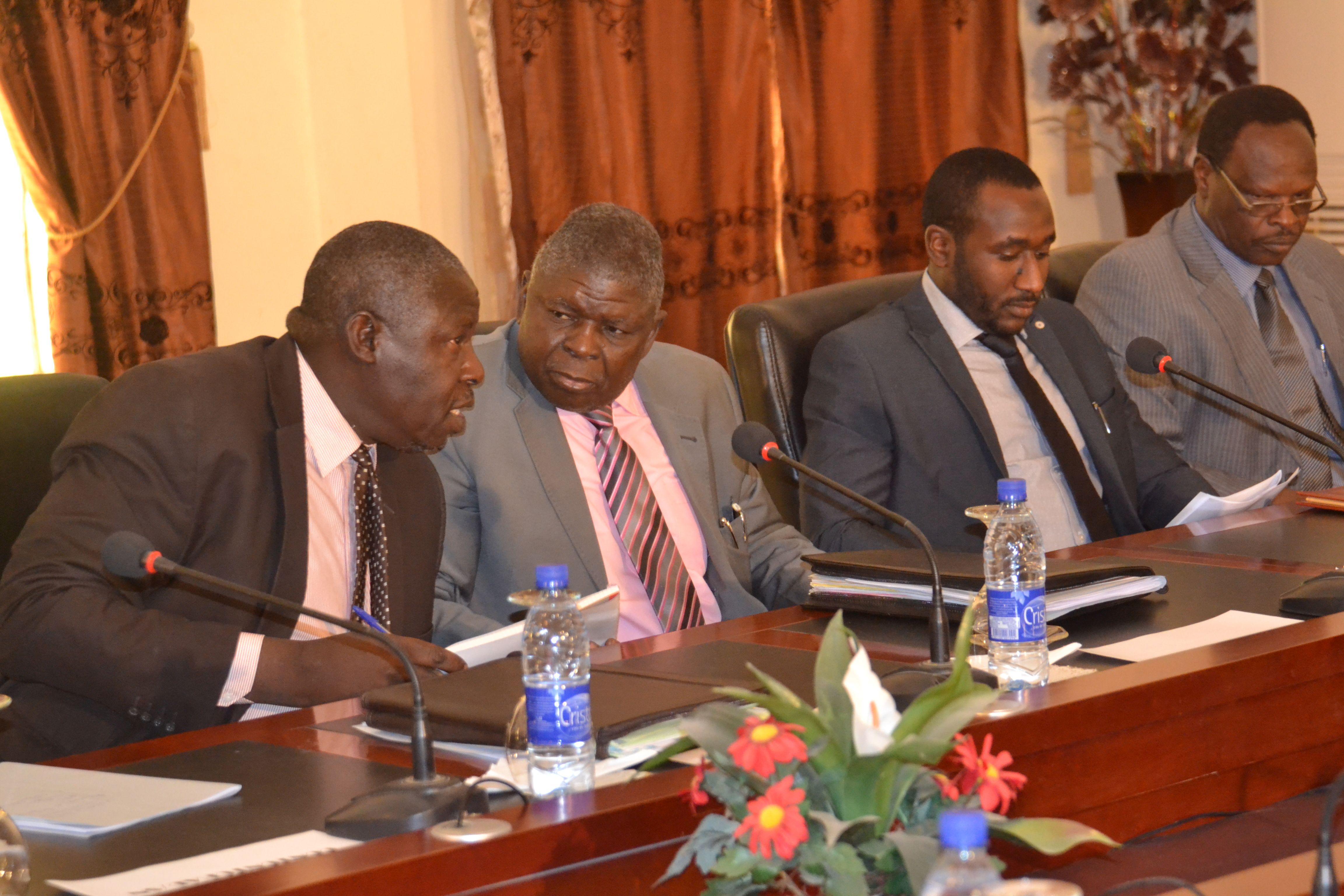 Le Premier Ministre a présidé la réunion du haut niveau sur la CotonTchad, société nouvelle.