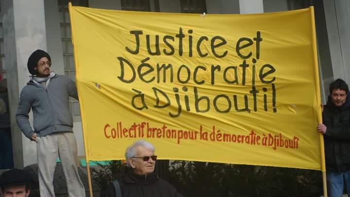 DJIBOUTI : Le Collectif Breton pour la Démocratie à Djibouti (CBDD), s'insurge contre la répression arbitraire orchestrée par le régime