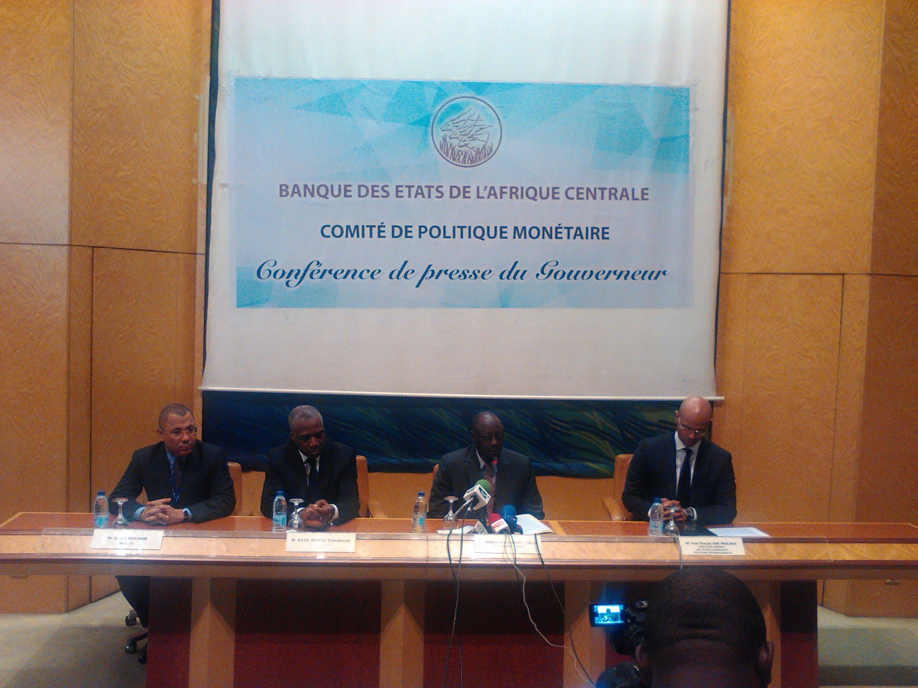BEAC:Les premiers pas du gouvernement d' Abbas Mahamat Tolli
