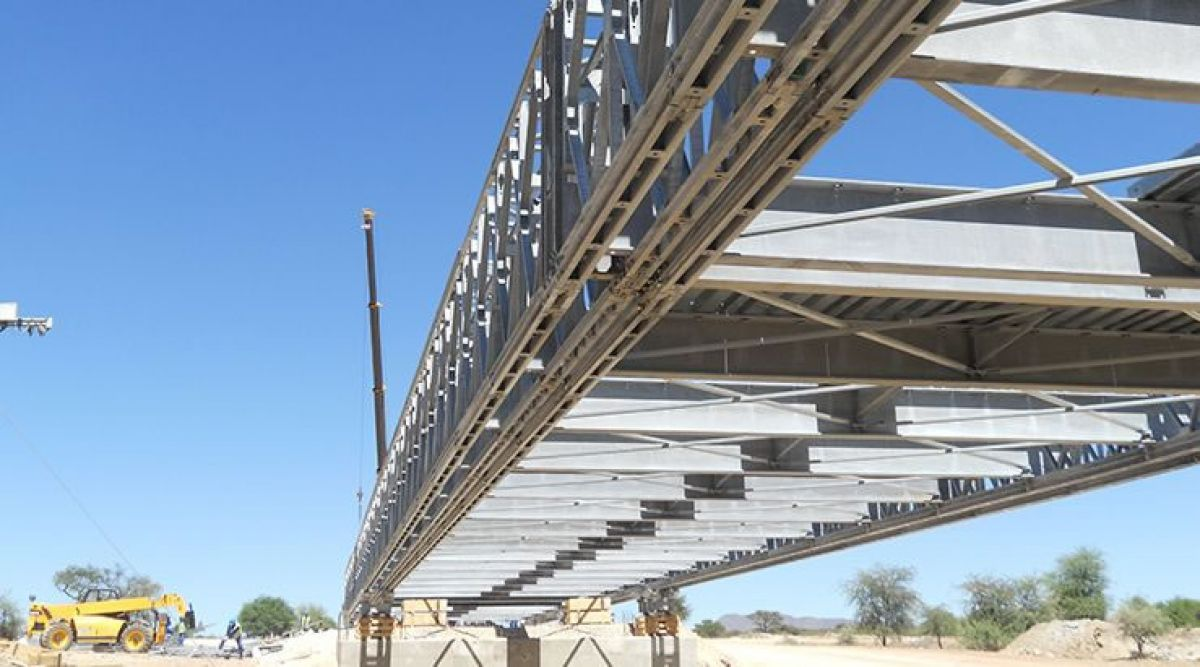 Groot Aub Bridge, Namibia. Crédits : /