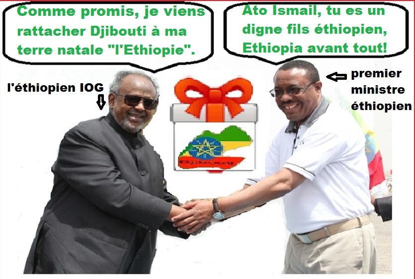Djibouti, pays indépendant ou colonie éthiopienne : comment le dictateur Guelleh a vendu notre pays à l'Éthiopie