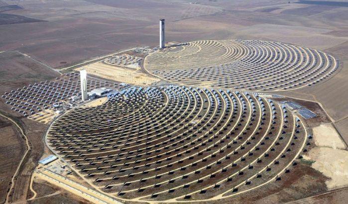 Le Roi du Maroc lance les travaux de réalisation de la 4ème centrale du complexe solaire Noor Ouarzazate