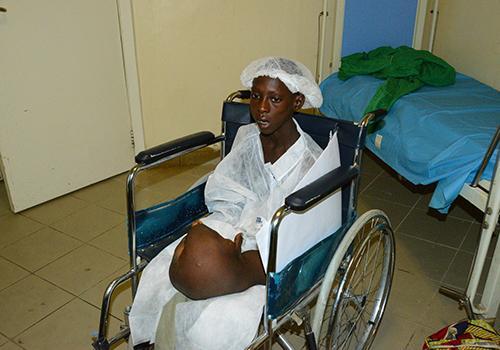 Tchad : Alhadj Modou, sauvé d'une hypertrophie congénitale par la Première Dame