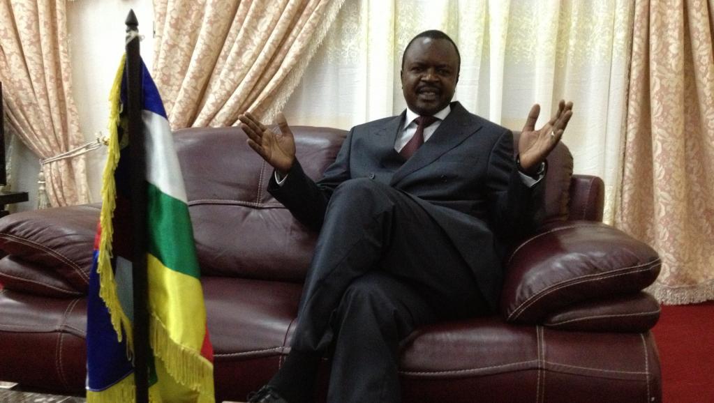 L'ancien chef de l'Etat de la Transition par intérim, et Président du Conseil National de Transition (CNT) en Centrafrique, Ferdinand Alexandre N'guendet.