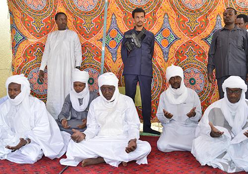 Tchad : Idriss Déby présente ses condoléances après la disparition d'un Chef de canton.