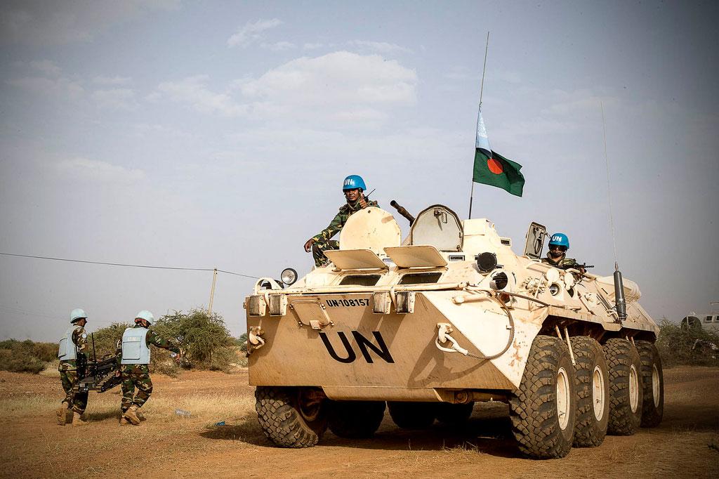 Des Casques bleus au Mali. Photo MINUSMA/Harandane Dicko (archives)