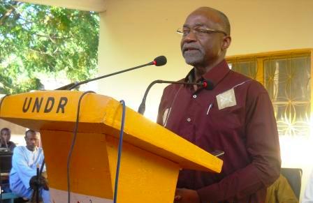 Saleh Kebzabo, leader de l'UNDR. Alwihda Info