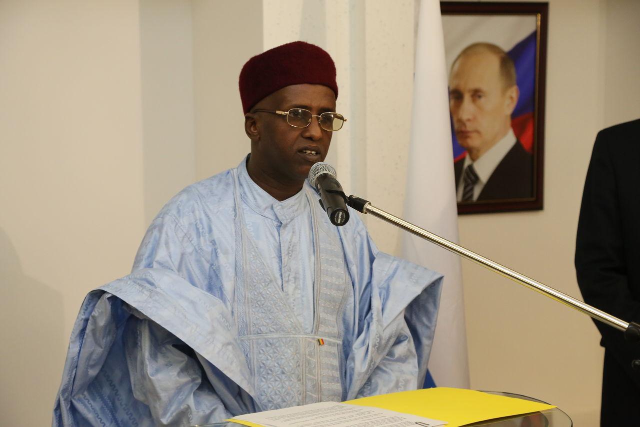 L'actuel ministre Youssou ABASSALAH présente le 23 Octobre 2013 au Kremlin sa Lettre de Créance à Mr Vladimir V. PUTIN - Président de la Fédération de Russie.
