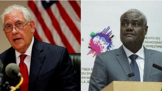 Couac diplomatique : Le secrétaire d'Etat américain Rex Tillerson a appelé Moussa Faki