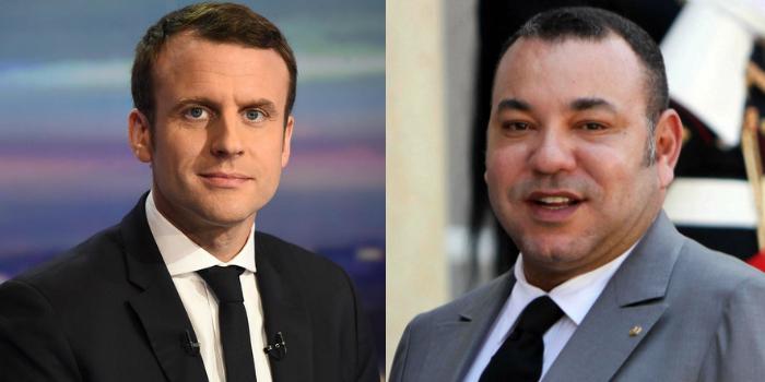 Le Roi du Maroc, Mohammed VI félicite le président français pour son élection