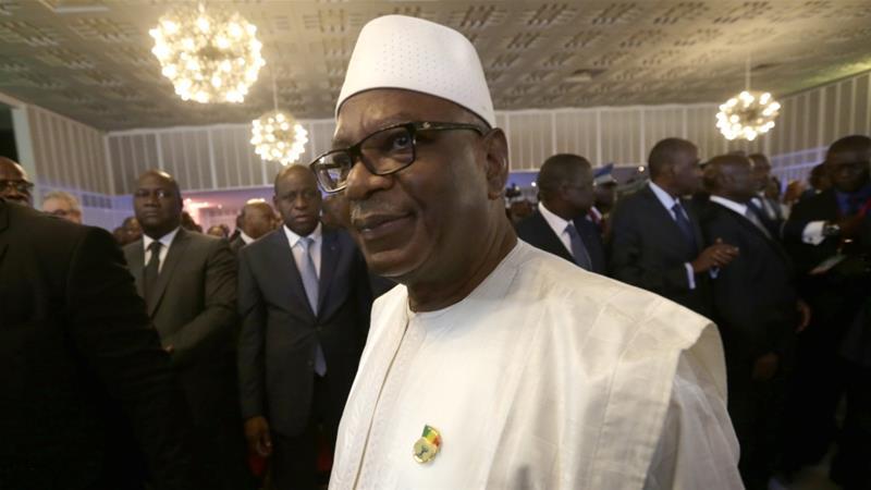 Le Président Malien, Ibrahim Boubakar Keïta. Crédits : AJ