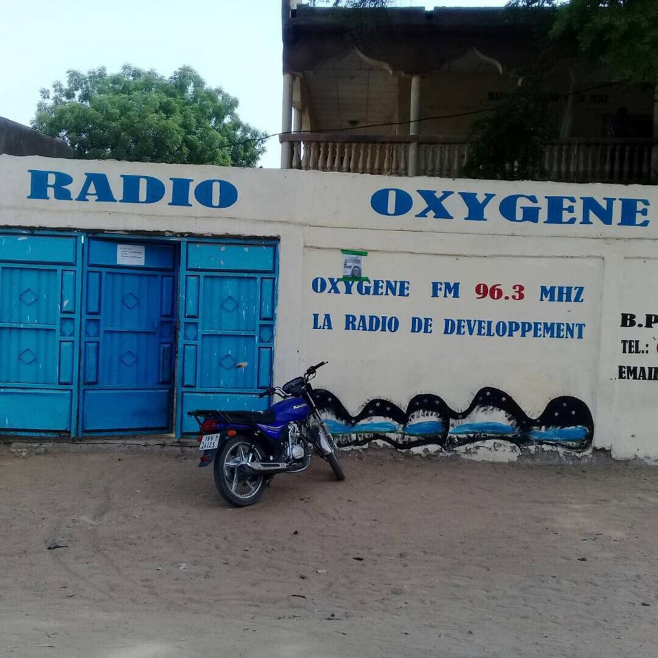 Le siège de la nouvelle radio Oxygène.