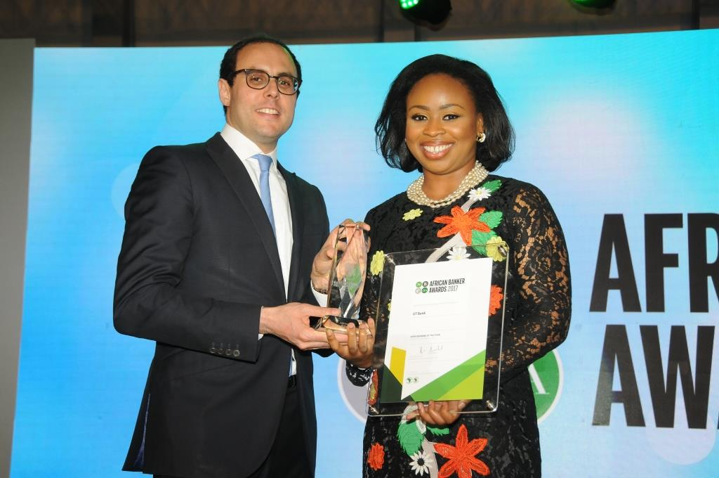 Citibank remporte le Trophée Carrière exemplaire aux African Banker Awards 2017