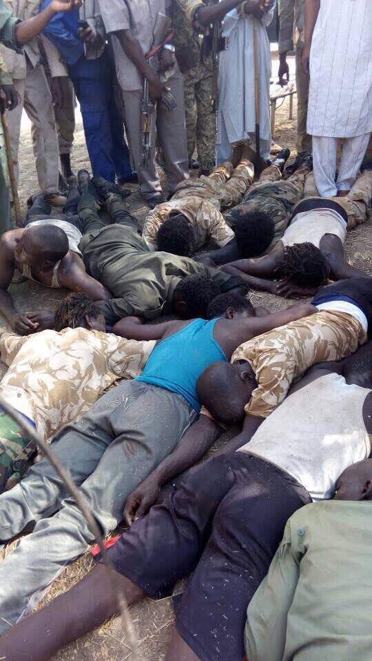 500 rebelles tués, des images inhumaines exposées par le Soudan