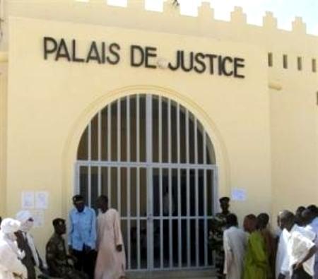 Le Palais de Justice à N'Djamena. © Droits réservés