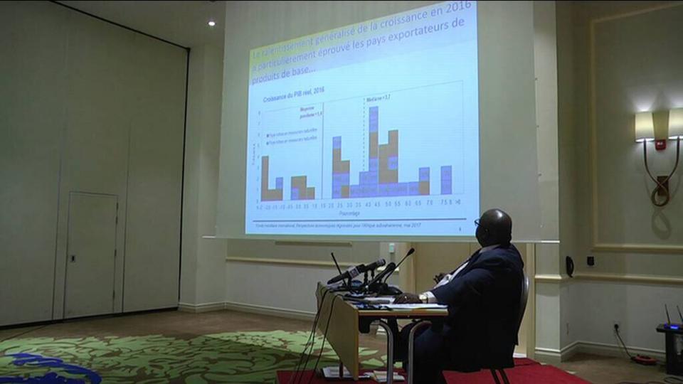Ralentissement de la croissance en Afrique subsaharienne