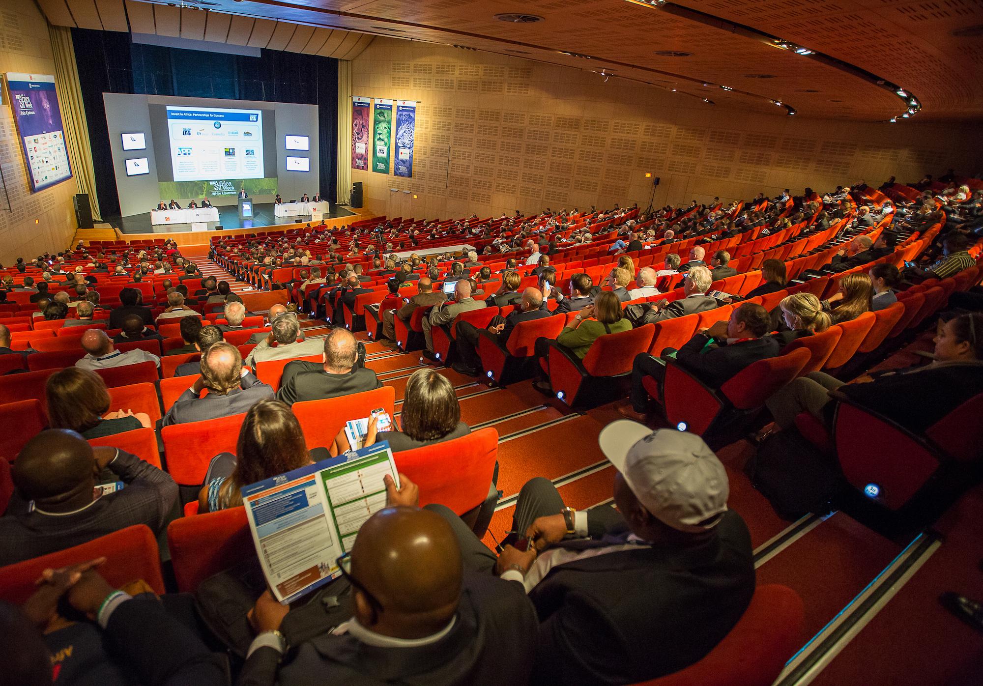 Africa Oil Week - Auditorium (Source: Africa Oil Week)