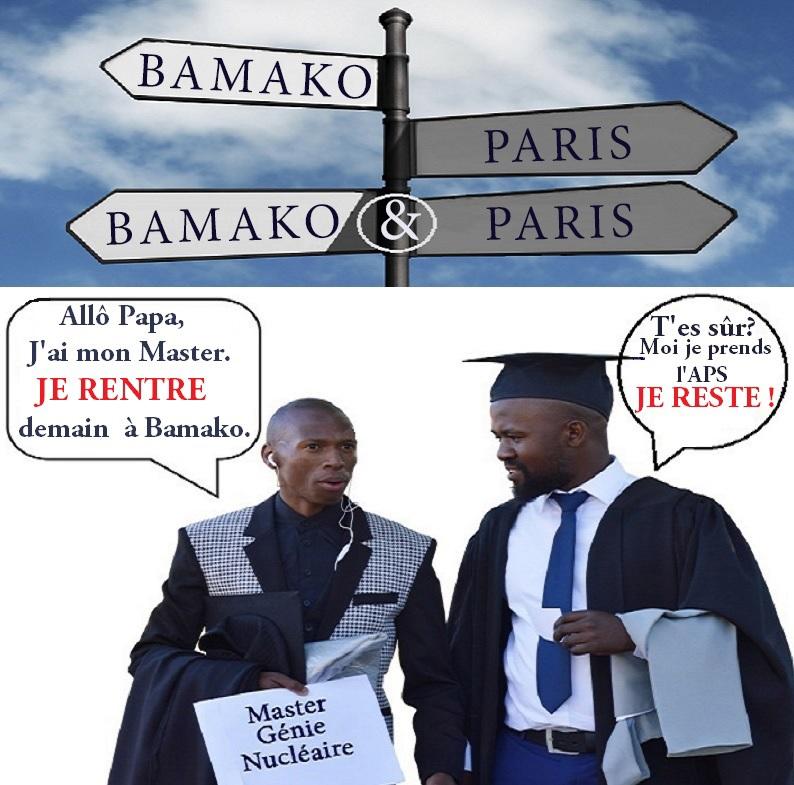 Tribune. Etudiants africains en France : Futurs diplômés – futurs « sans papiers ». Partie 2