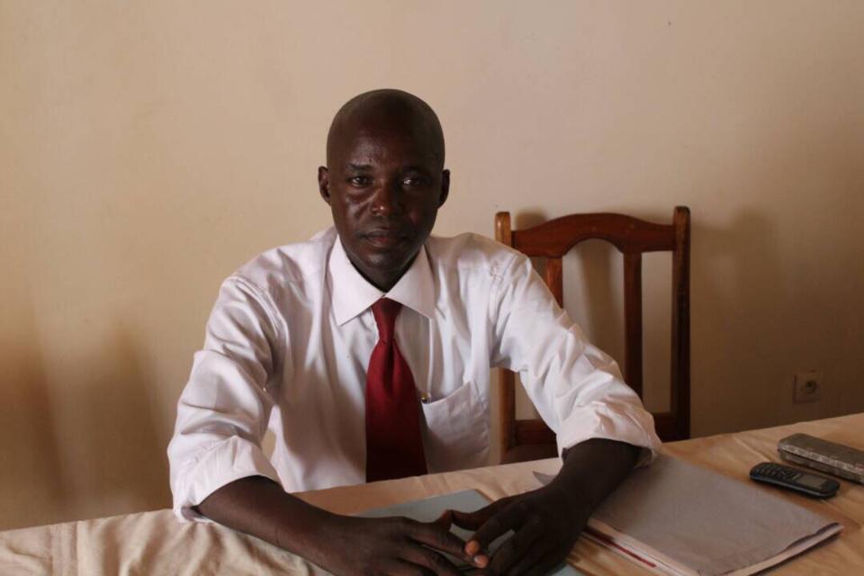 Le président du Collectif Tchadien Contre la Vie Chère (CTV), Dingamnayel Nely Vernisis. Alwihda Info
