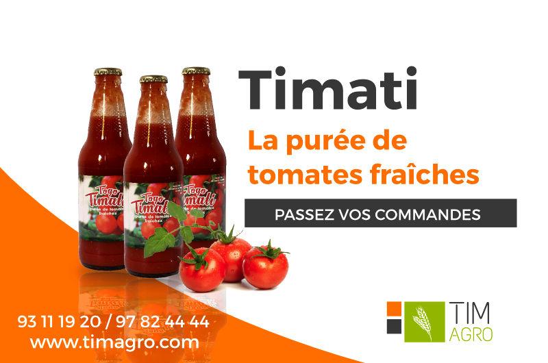 A la découverte de « Togo Timati », la purée de tomate fraîche made in Togo