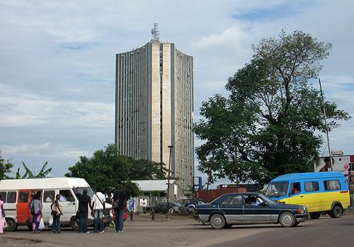 Le siège de la RTNC au Congo. Crédits : Sources
