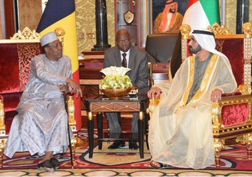 Archives/ Le président Deby reçu en audience par le vice-président des Emirats Arabes Unis en mai 2016.