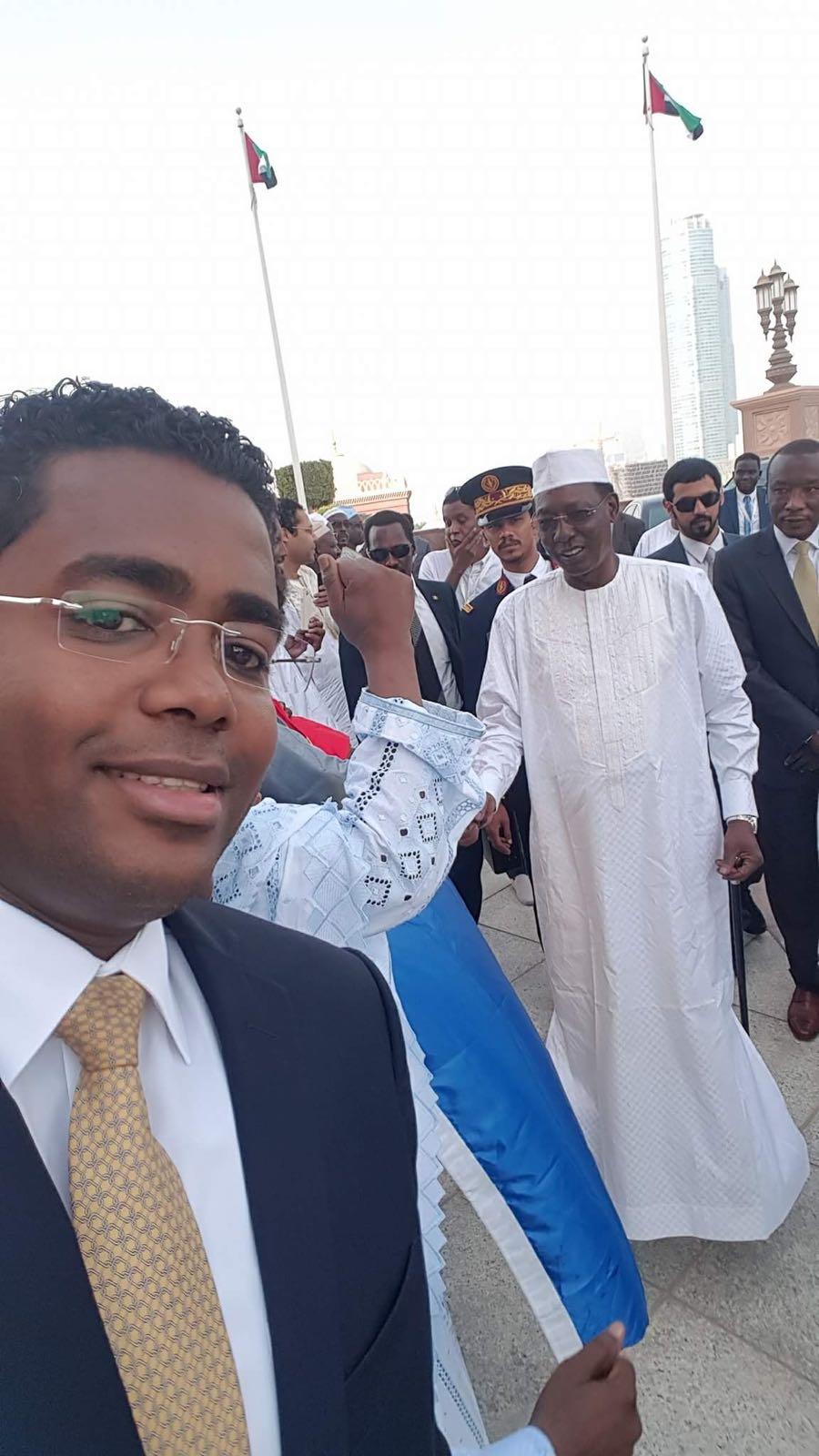 Le Président tchadien en visite aux Emirats arabes unis