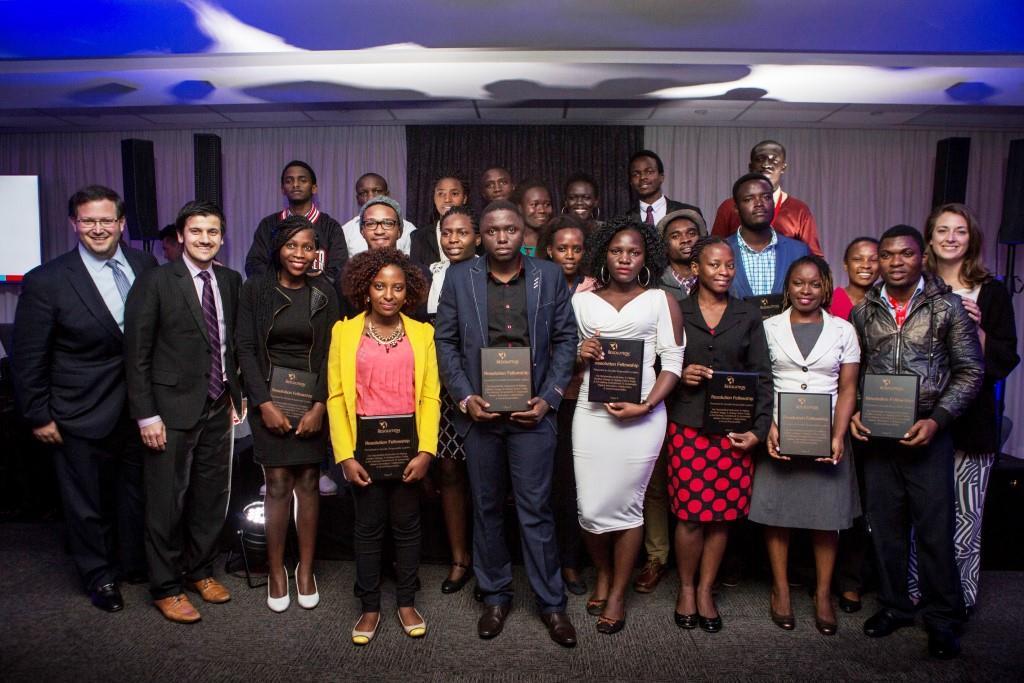21 leaders africains de la nouvelle génération gagnants du Resolution Social Venture Challenge