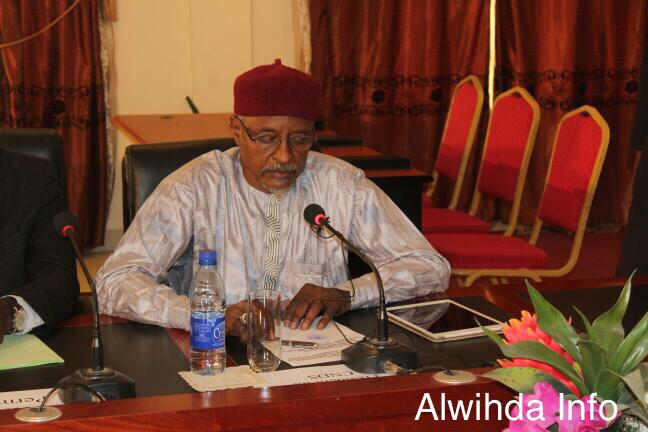 Le président du Comité National du Dialogue Social (CNDS), Ali Abbas SEITCHI.