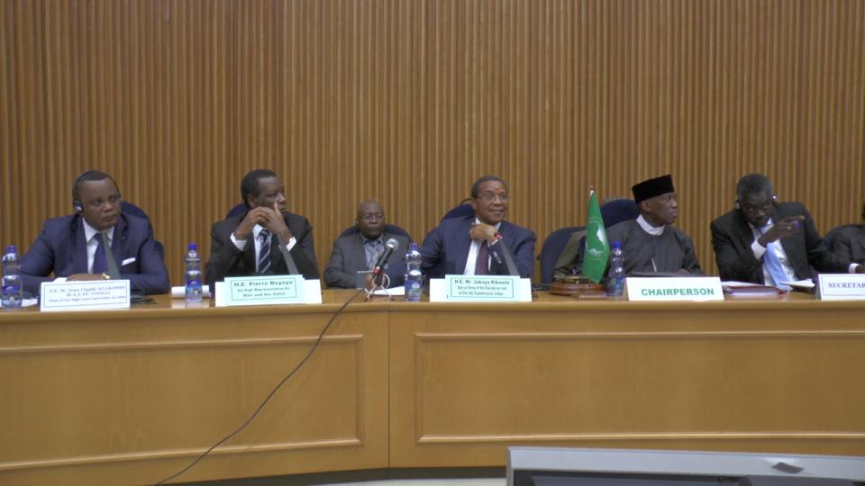 Réunion du conseil de paix et de sécurité de l'UA