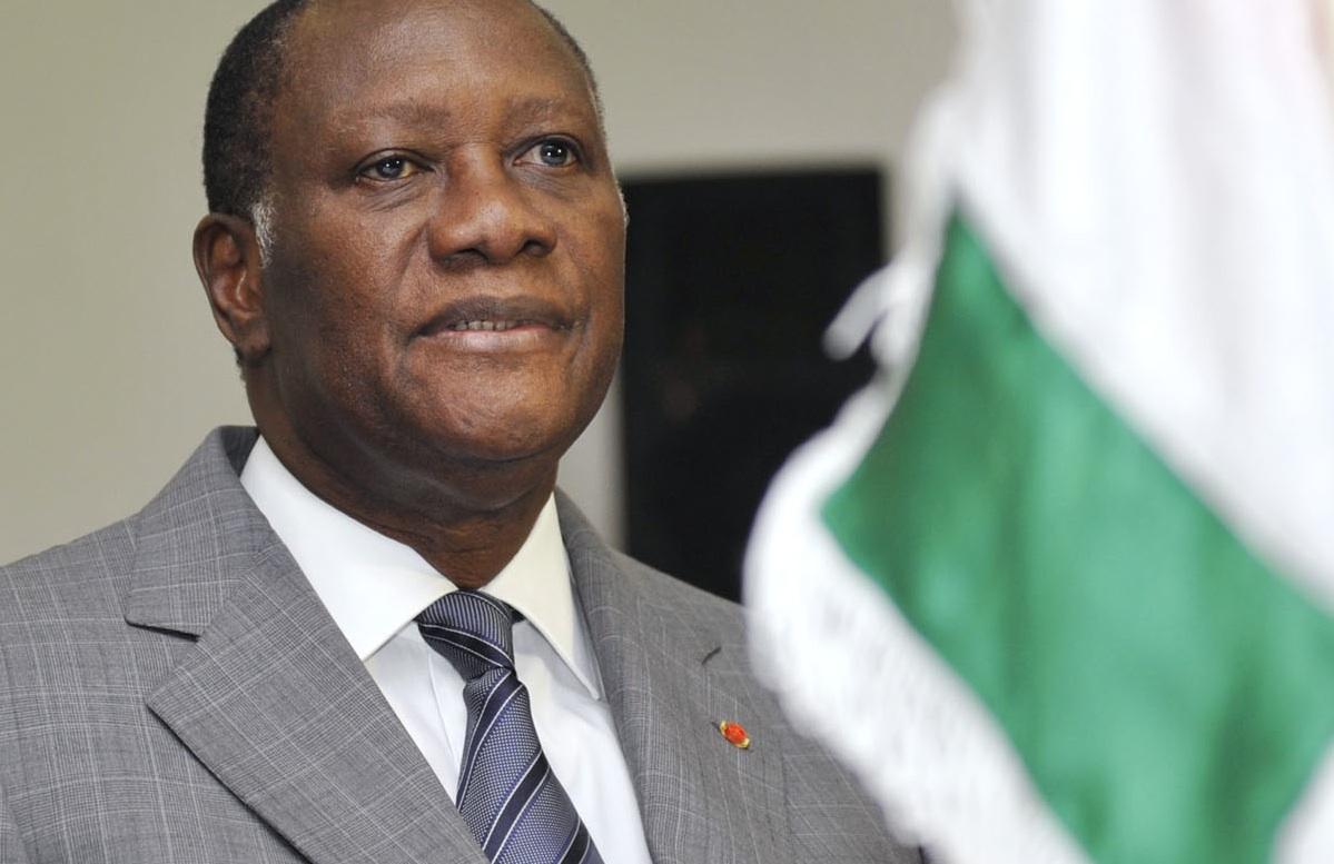 Le président ivoirien Alassane Ouattara. Crédits photo : Sources