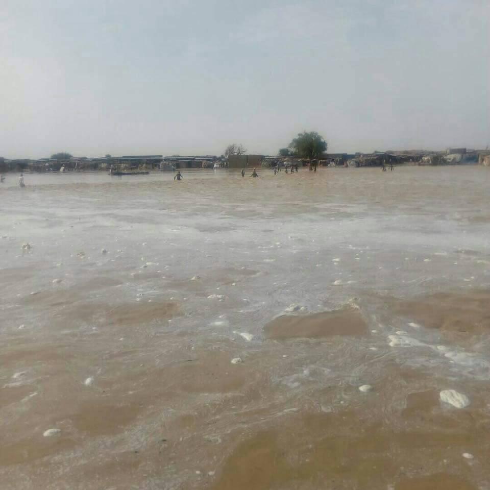 La ville d'Oumchalouba dans l'Ennedi.