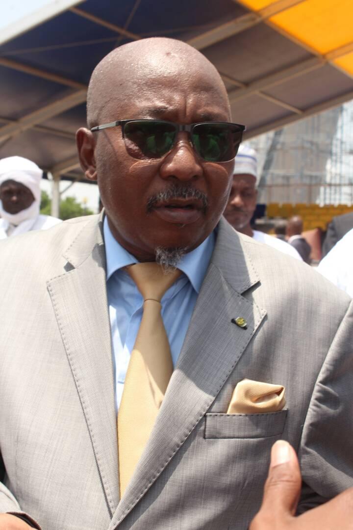 Le ministre de la Sécurité Publique et de l'Immigration, Ahmat Mahamat Bachir. Alwihda Info/D.W.