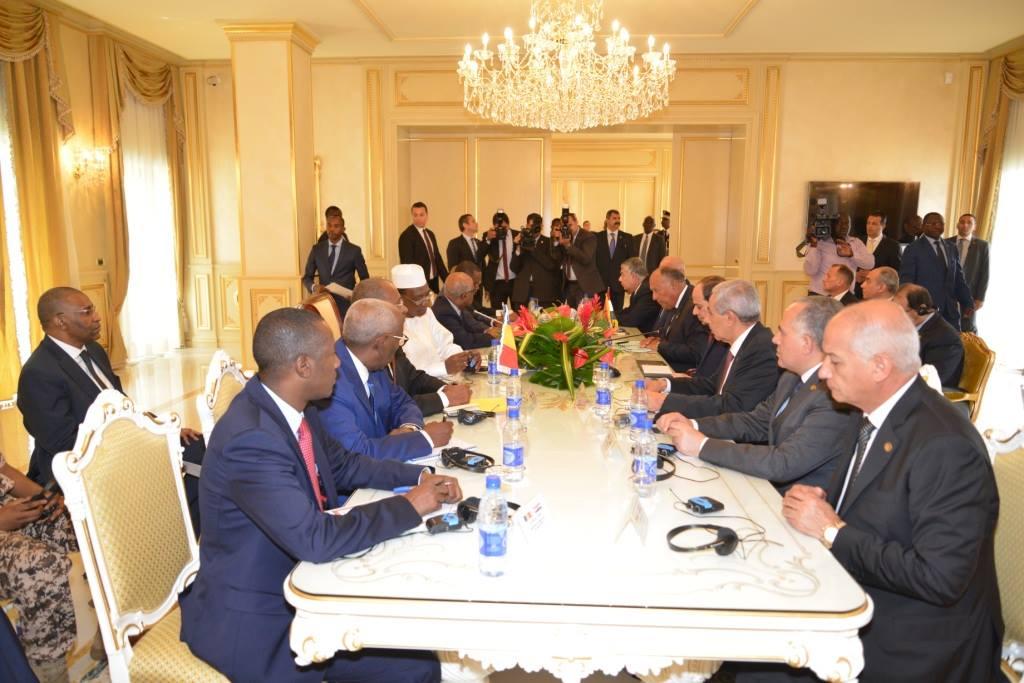 """Le Tchad et l'Egypte vont réactiver la """"commission mixte de coopération"""""""