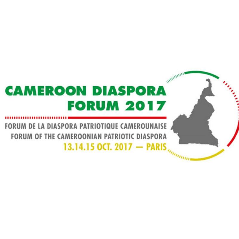 Forum de la diaspora camerounaise : La diaspora se relance à Paris les 13, 14 et 15 octobre 2017