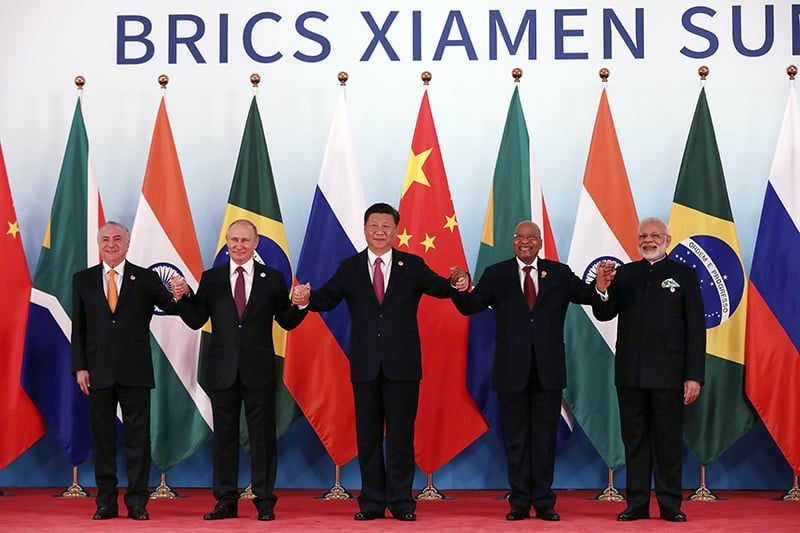 BRICS countries to embrace a more energetic 'golden decade': People's Daily