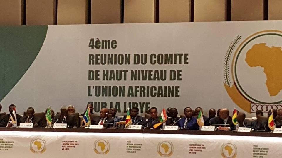 Une vue des participants de la réunion de Brazzaville